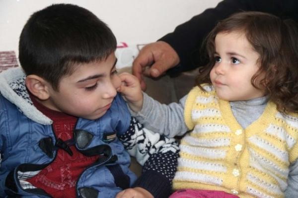 Küçük Muhammet Kendisine Uzanacak Yardım Elini Bekliyor