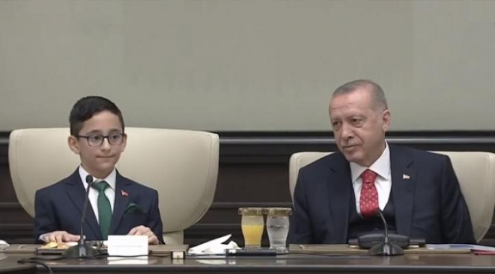 Minik Cumhurbaşkanı'ndan Kılıçdaroğlu sorusuna gülümseten yanıt