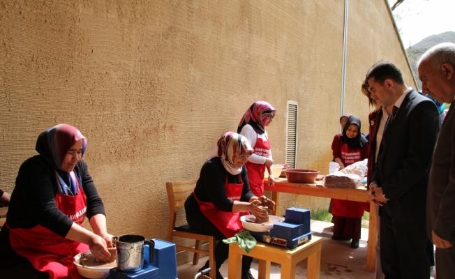 Müzede uygulanan proje ev hanımlarına iş kapısı olacak
