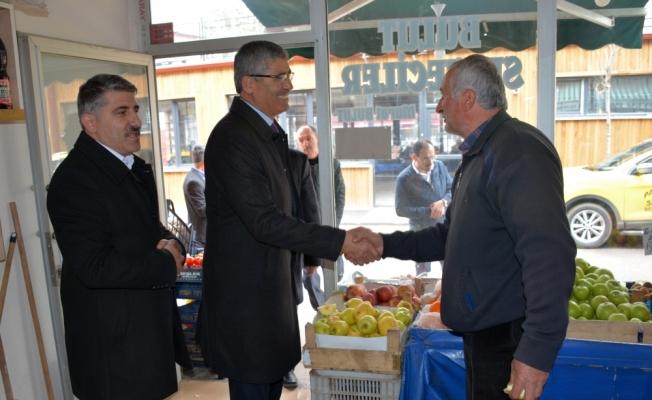 Suşehri Belediye Başkanı Yüksel'den teşekkür ziyareti