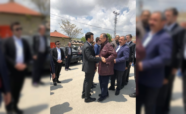 AK Parti Ankara İl Başkanı Özcan'ın Acı Gününde Dostları Yalnız Bırakmadı