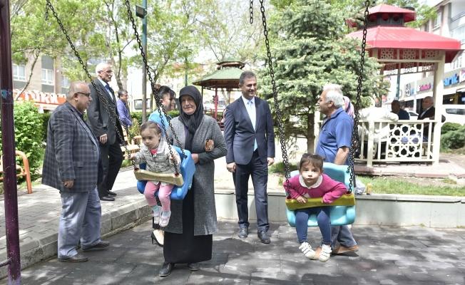 Başkan Köse, parkları inceledi