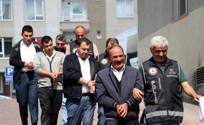 GÜNCELLEME - Kayseri'de 21 düzensiz göçmen yakalandı