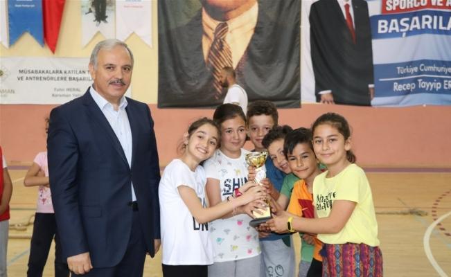 Karaman'da çocuk oyunları şenliği