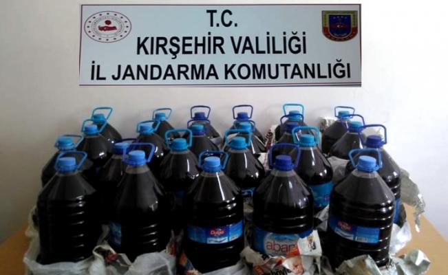 Kırşehir'de kaçak içki operasyonu