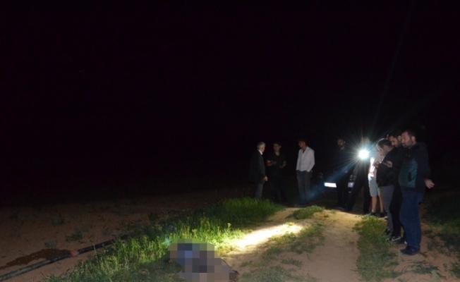 Konya'da bir kişi tarlada ölü bulundu