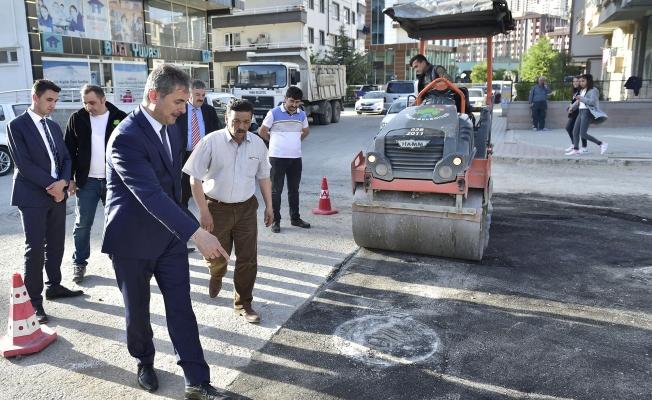 Mamak'ta asfalt seferberliği