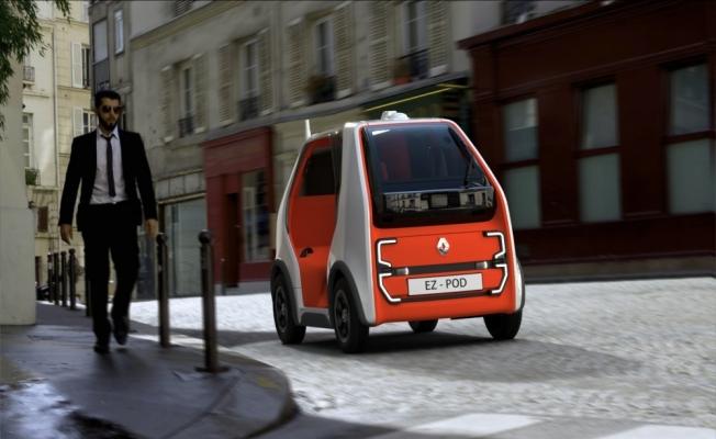 Renault'tan hızlı ulaşım ve kurye hizmetine yönelik konsept araç