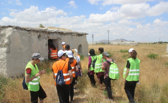Ankaralı öğrenciler Karapınar'ı gezdi