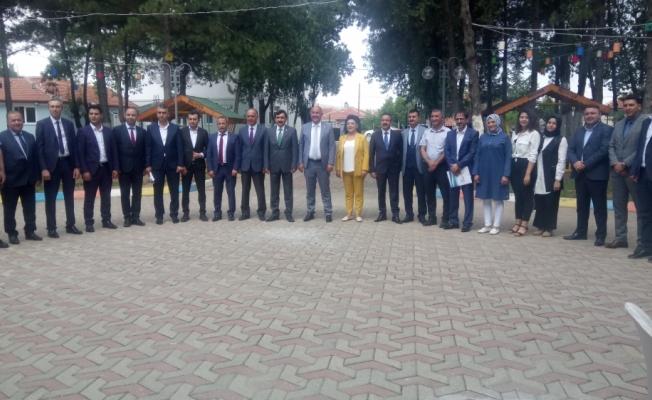 Başkan Türkyılmaz, basın mensuplarıyla bir araya geldi