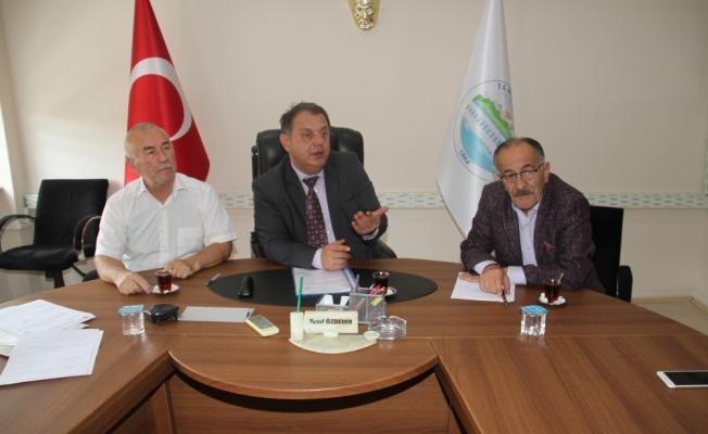 Beyşehir'de YKS Koordinasyon Kurulu Toplantısı yapıldı