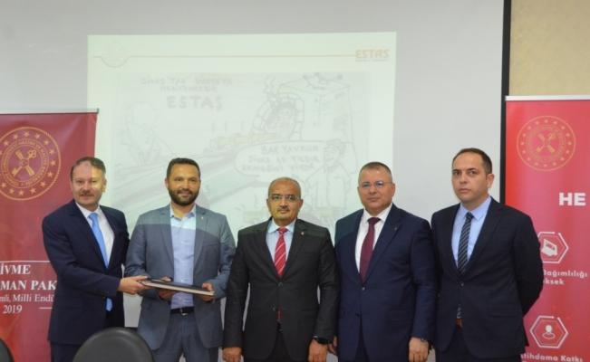 ESTAŞ ve Ziraat Bankası, İVME protokolü imzaladı