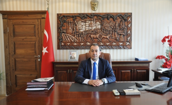 Gülşehir Kaymakam Vekili Talat Tabur görevine başladı