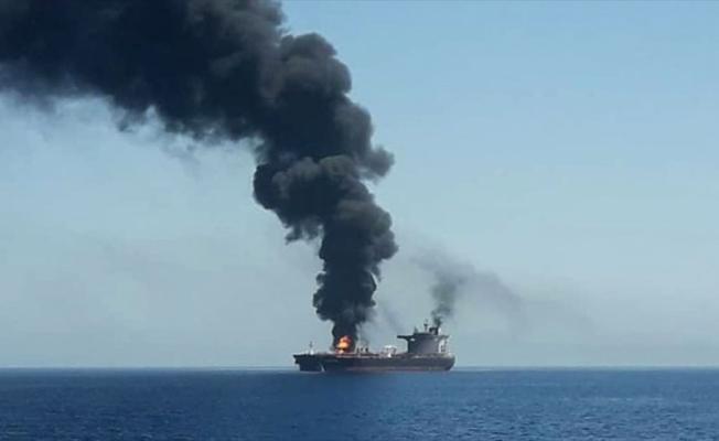 Japon tankerlerine yönelik saldırının yakınlarında İran donanmasına ait gemi olduğu iddia edildi