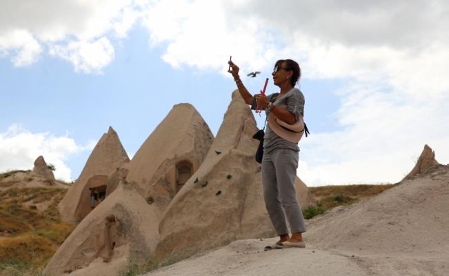 Kapadokya bayram tatilinde yoğun ilgi gördü