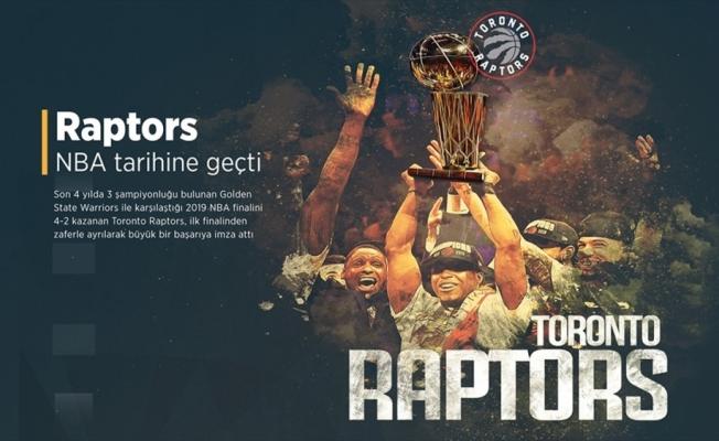 Raptors NBA tarihine geçti