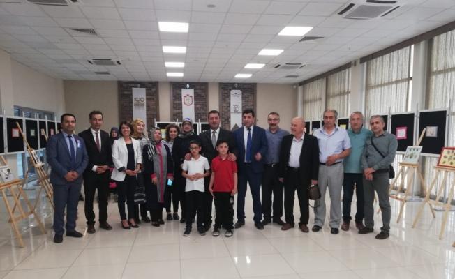 Sivas'ta kuru ot tasarım sergisi açıldı
