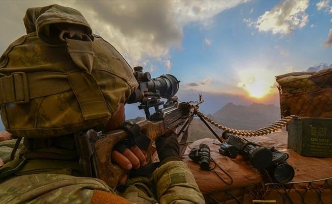 Tendürek Dağı bölgesinde 4 terörist etkisiz hale getirildi