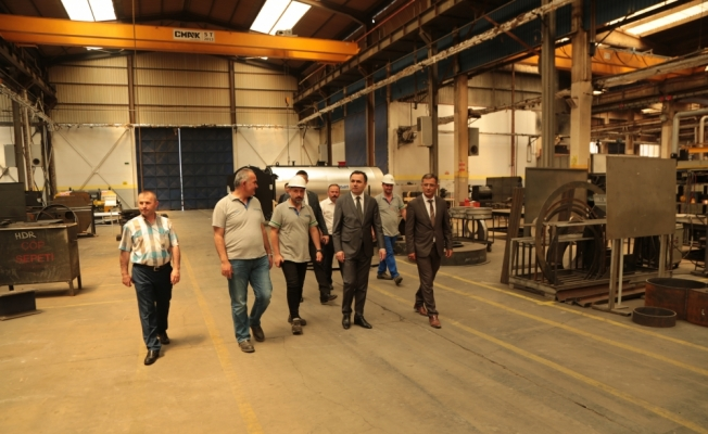 Yozgat Valisi Çakır, OSB'yi ziyaret etti