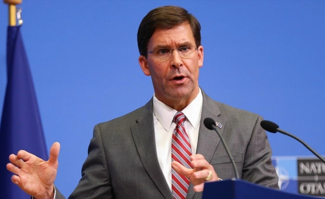 ABD Savunma Bakanı Vekili Esper'den S-400 açıklaması