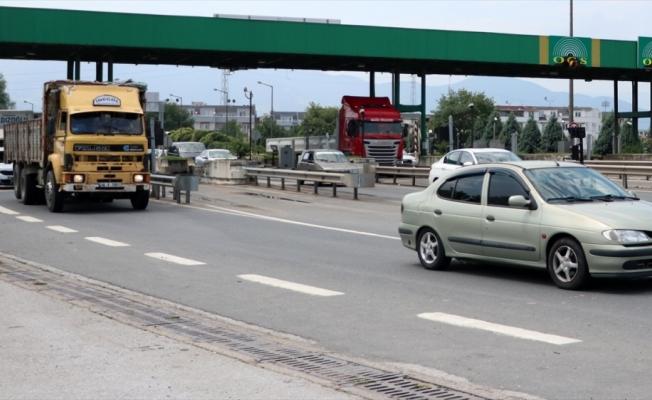 Anadolu Otoyolu Gölyaka gişeleri hizmete açıldı