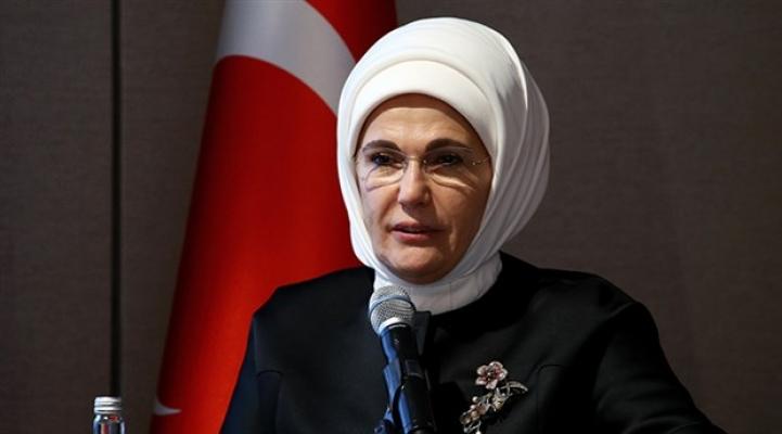 Emine Erdoğan'dan 15 Temmuz mesajı