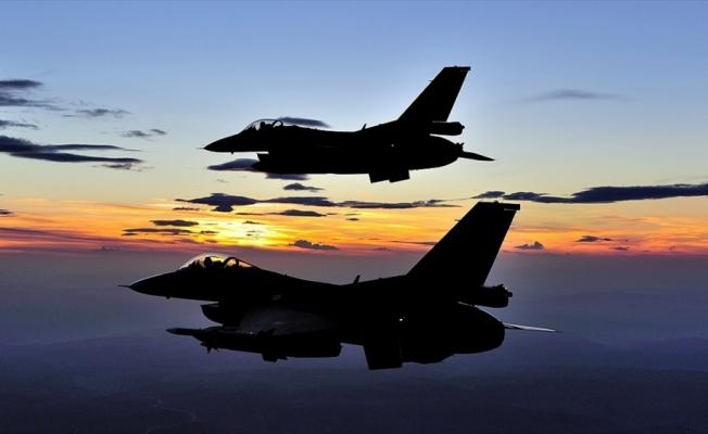 Irak'ın kuzeyine hava harekatı: 15 terörist etkisiz hale getirildi