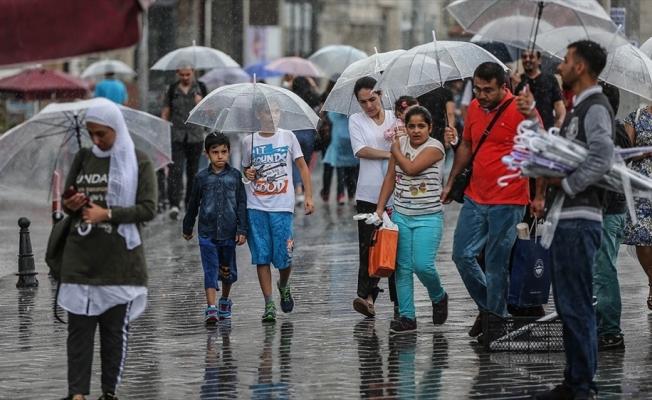İstanbul serin ve yağışlı havanın etkisine girecek