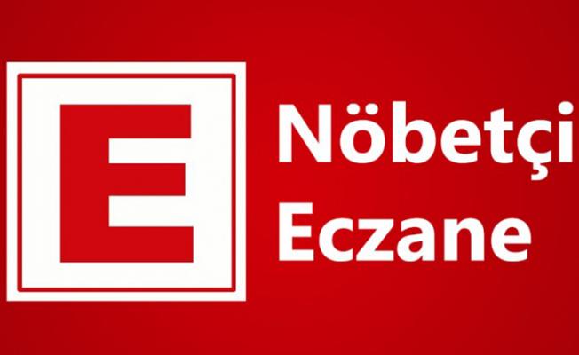 Nöbetçi Eczaneler (23/07/2019)