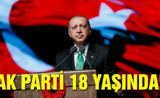 AK Parti 18 yaşında!