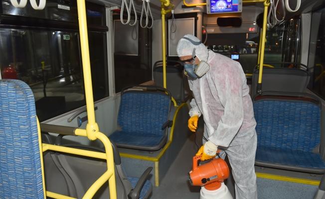 EGO Otobüsleri Temizleniyor!
