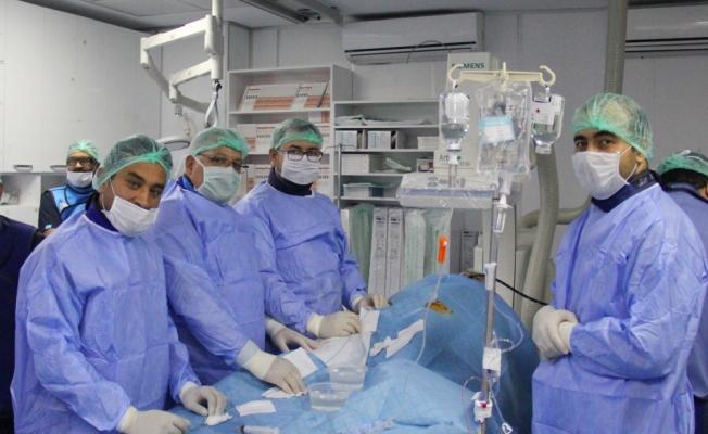 Kırşehir'de ilk kez ameliyatsız kalp deliği kapatıldı