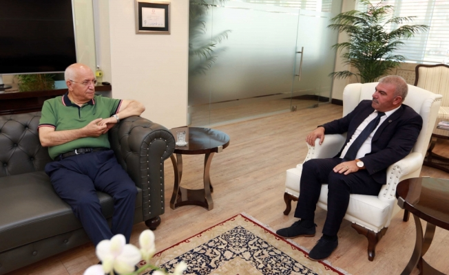 KKTC heyetinden Yenimahalle'ye ziyaret