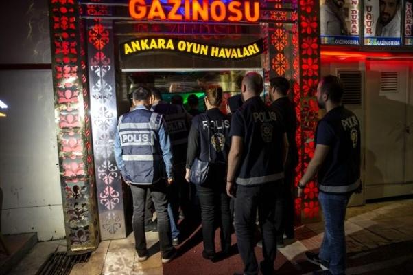 Ankara'da hareketli gece! Dev operasyona 552 polis katıldı