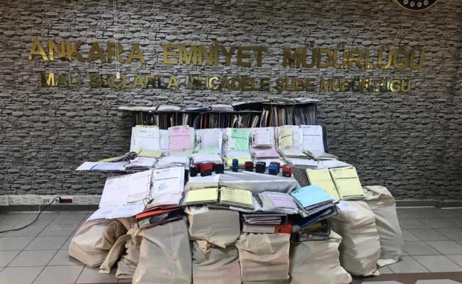 "Ankara merkezli 5 ilde 1 milyarlık ""naylon fatura"" operasyonu"