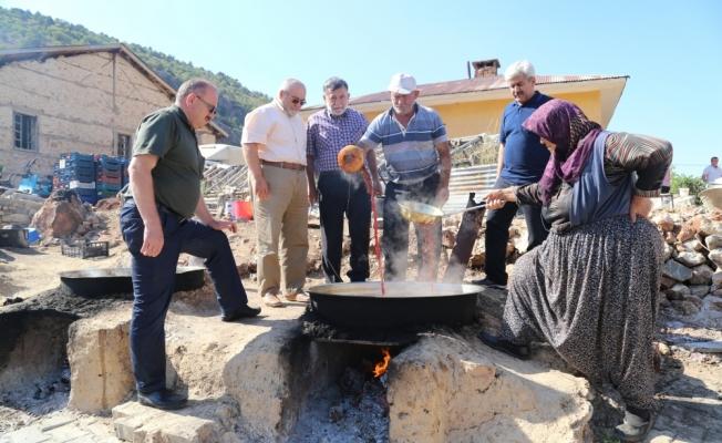 Belediye Başkanı Hadimioğlu çiftçilerle buluştu