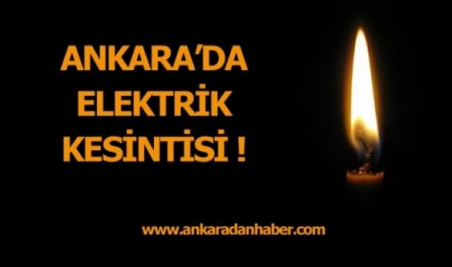 Elektrik Kesintisi (18/09/2019)