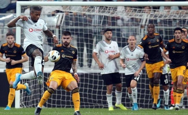 Beşiktaş Avrupa'da da kayıp