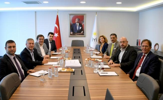 CHP ve İYİ Parti 'Yargı Reformu Paketi'ni görüştü
