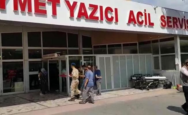 Hatay'da askeri araç devrildi! 2 şehit