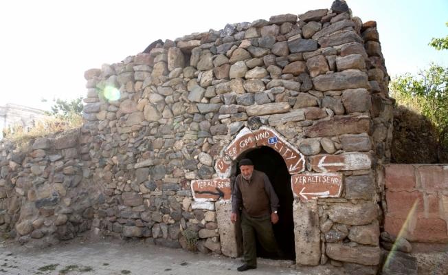 Kapadokyalı köylüler Özlüce yer altı şehrinin yeniden açılmasını istiyor