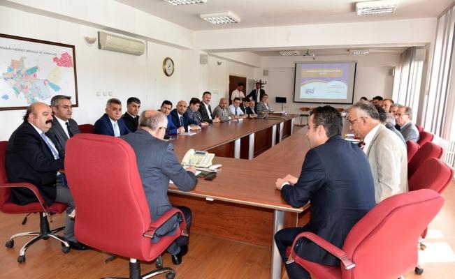 Karaman'da Acil Durum Koordinasyon Kurulu Toplantısı