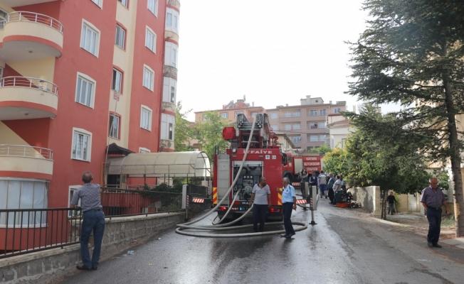 Kayseri'de çatı yangını: 9 yaralı