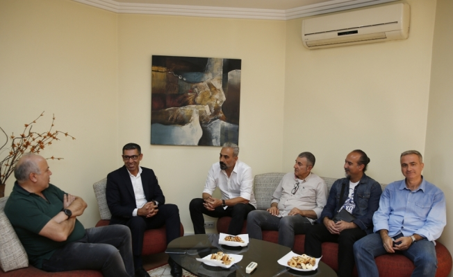 Osmanlıspor Teknik Direktörü Dalcı'dan TSYD'ye ziyaret