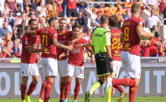 Roma evinde Cagliari'yi yenemedi