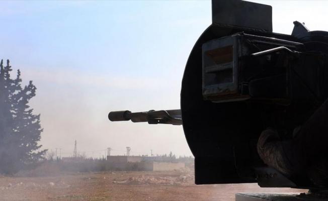 Tel Rıfat'taki YPG/PKK'lı teröristlerden ÖSO mevzilerine saldırı