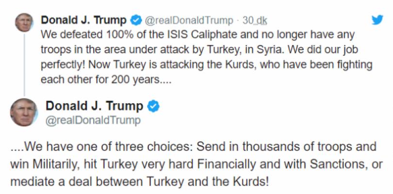 Trump'tan tehdit gibi açıklama! 'Üç seçenek var'