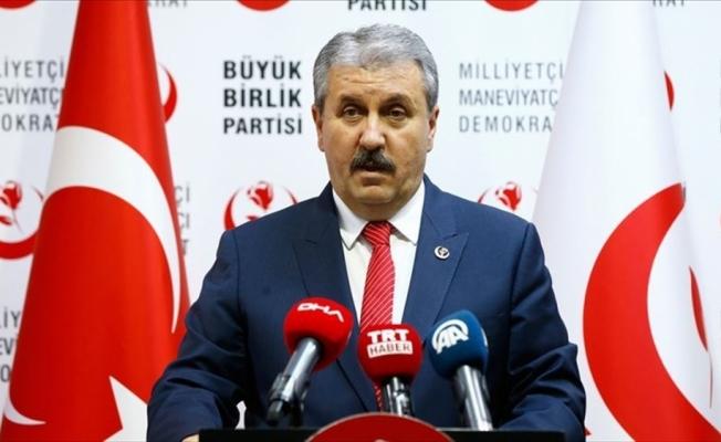 BBP Genel Başkanı Destici: ABD-Türkiye ilişkilerinde yeni bir sayfa açılmış görünüyor