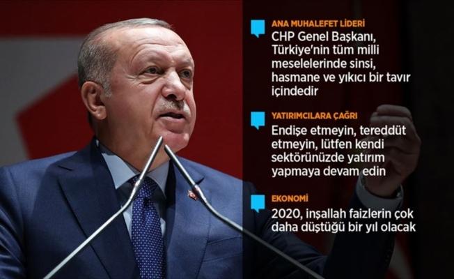 Cumhurbaşkanı Erdoğan: Bunların edepsizlikleri karşısında artık susmak diye bir şey yok