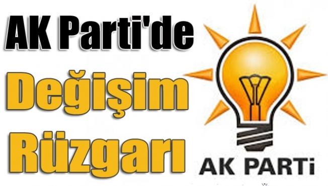 AK Parti'de değişim! 9 il 40 ilçe başkanı görevi bıraktı
